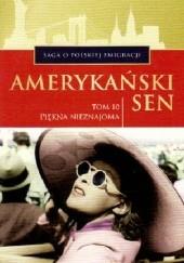 Okładka książki Piękna nieznajoma Marian Piotr Rawinis