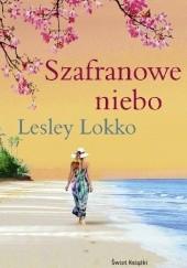 Okładka książki Szafranowe niebo Lesley Lokko