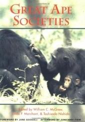 Okładka książki Great Ape Societies William McGrew