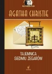 Okładka książki Tajemnica siedmiu zegarów Agatha Christie
