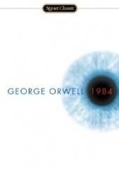 Okładka książki 1984 George Orwell
