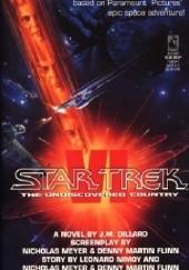 Okładka książki Star Trek VI: The Undiscovered Country J. M. Dillard