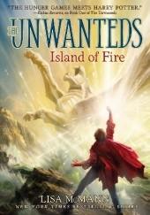 Okładka książki Island of Fire Lisa McMann