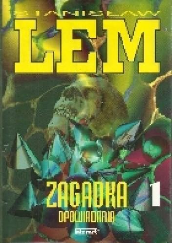 Okładka książki Zagadka 1 Stanisław Lem