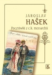 Okładka książki Pocztówki z c.k. monarchii Jaroslav Hašek
