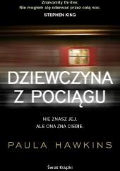 Okładka książki Dziewczyna z pociągu Paula Hawkins