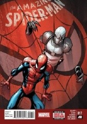 Okładka książki Amazing Spider-Man Vol 3 #17 - The Graveyard Shift Part Two: Trust Issues Christos Gage,Dan Slott,Humberto Ramos