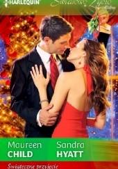 Okładka książki Świąteczne przyjęcie Maureen Child,Sandra Hyatt
