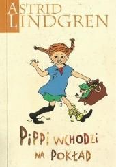 Okładka książki Pippi wchodzi na pokład Astrid Lindgren