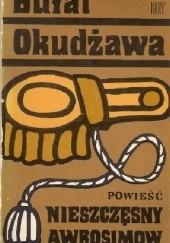 Okładka książki Nieszczęsny Awrosimow Bułat Okudżawa