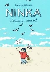 Okładka książki Ninka. Patrzcie, morze! Karolina Lijklema