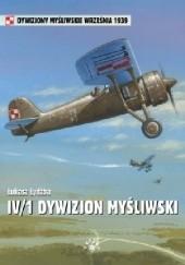 Okładka książki IV/1 Dywizjon Myśliwski Łukasz Łydżba