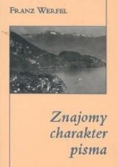 Okładka książki Znajomy charakter pisma Franz Werfel