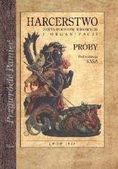 Okładka książki Harcerstwo - zarys podstaw ideowych i organizacji. Próby Stanisław Sedlaczek