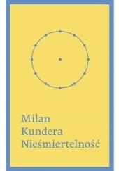 Okładka książki Nieśmiertelność Milan Kundera