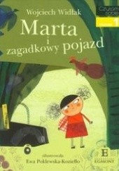 Okładka książki Marta i zagadkowy pojazd Wojciech Widłak