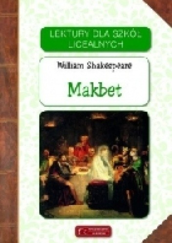 Okładka książki Makbet William Shakespeare
