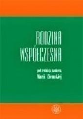 Okładka książki Rodzina współczesna Maria Ziemska