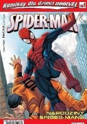 Okładka książki Spider-Man: Narodziny Spider-Mana