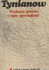 Okładka książki Woskowa persona i inne opowiadania