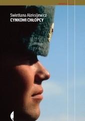 Okładka książki Cynkowi chłopcy Swiatłana Aleksijewicz
