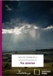 Okładka książki Na marne Henryk Sienkiewicz