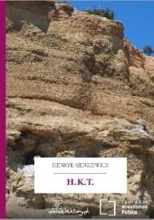 Okładka książki H.K.T. Henryk Sienkiewicz