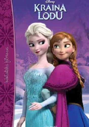 Okładka książki Kraina Lodu Walt Disney