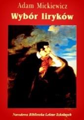 Okładka książki Wybór liryków Adam Mickiewicz