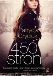 Okładka książki 450 stron Patrycja Gryciuk