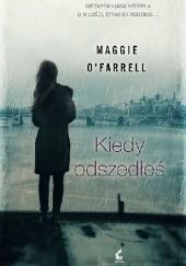 Okładka książki Kiedy odszedłeś Maggie O'Farrell