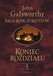 Okładka książki Koniec rozdziału t. I John Galsworthy