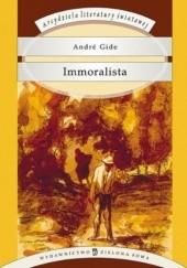 Okładka książki Immoralista André Gide