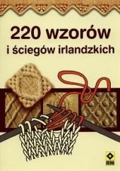 Okładka książki 220 wzorów i ściegów irlandzkich Katarzyna Tryc
