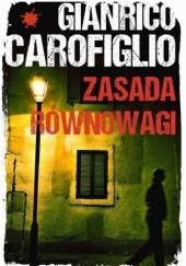Okładka książki Zasada równowagi Gianrico Carofiglio