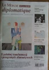 Okładka książki Le Monde Diplomatique 4/2015 praca zbiorowa
