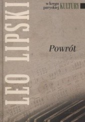 Okładka książki Powrót Leo Lipski