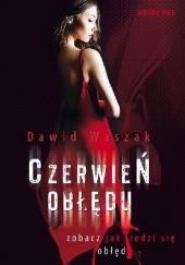 Okładka książki Czerwień obłędu Dawid Waszak