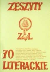 Okładka książki Zeszyty Literackie nr 70 (2/2000) Redakcja kwartaln. Zeszyty Literackie