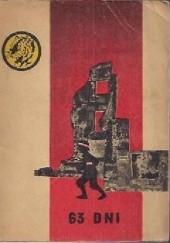 Okładka książki 63 dni Stanisław Komornicki