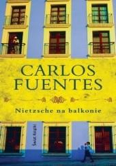 Okładka książki Nietzsche na balkonie Carlos Fuentes