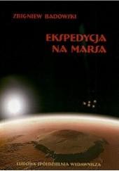 Okładka książki Ekspedycja na Marsa Zbigniew Badowski