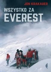 Okładka książki Wszystko za Everest Jon Krakauer