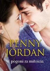 Okładka książki W pogoni za miłością Penny Jordan