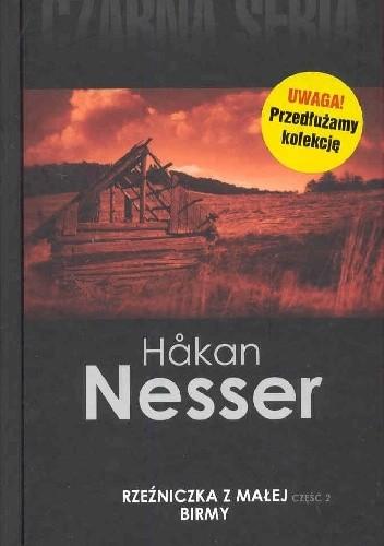 Okładka książki Rzeźniczka z Małej Birmy, część 2 Håkan Nesser