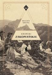 Okładka książki Kroniki zakopiańskie Maciej Krupa