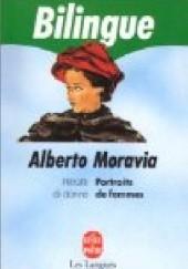 Okładka książki Ritratti di donne/Portraits de femmes Alberto Moravia