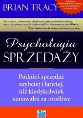 Okładka książki Psychologia sprzedaży Brian Tracy