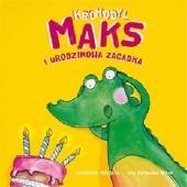 Okładka książki Krokodyl Maks i urodzinowa zagadka Katarzyna Terlecka