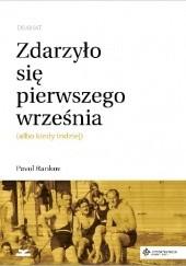 Okładka książki Zdarzyło się pierwszego września (albo kiedy indziej). Dramat Pavol Rankov